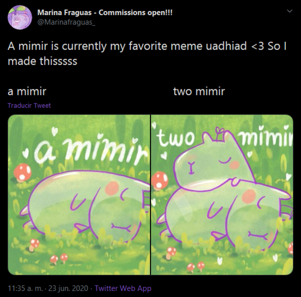A Mimir Is Currently My Favorite Meme Uadhiad 3 So I Made