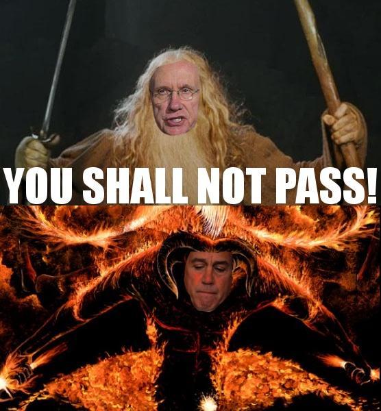 You Shall Not Pass You Got It Coach Gandalf Kobe Quickmeme