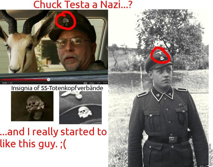 Nope Chuck Testa Know Your Meme