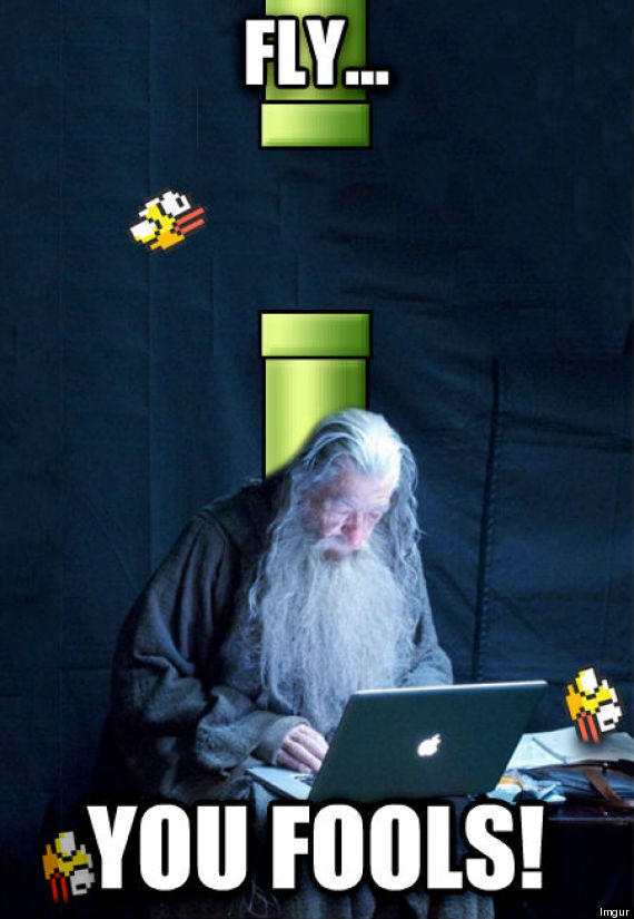 Fly You Fools Tech Support Gandalf Know Your Meme