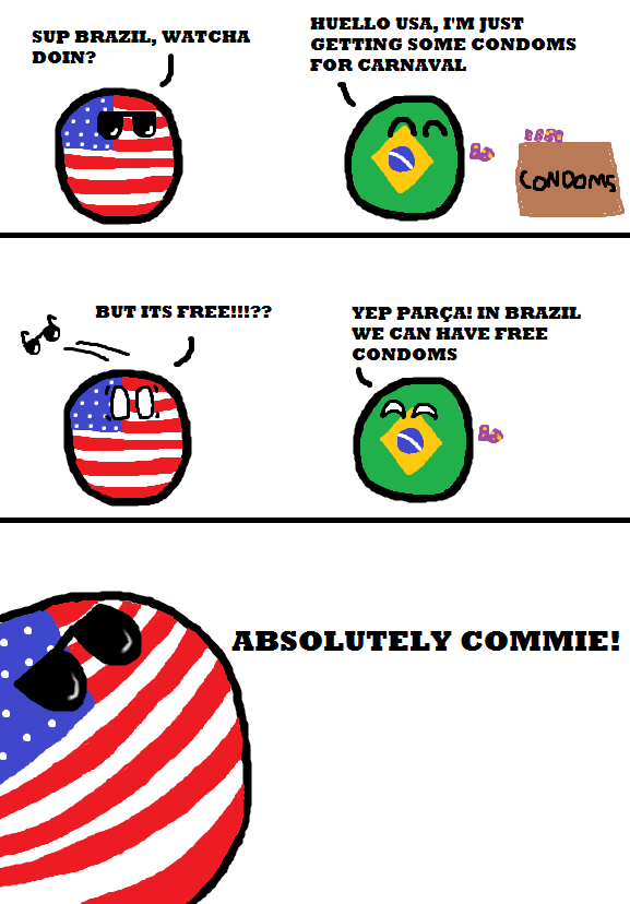 Brazilball Country Balls