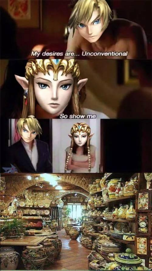 Fifty Pots Of Link The Legend Of Zelda Know Your Meme