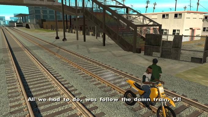 Follow The Damn Train Cj By Munkitmeme Meme Center