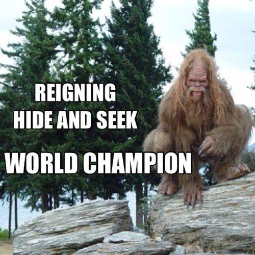 Bigfoot The Hide And Seek Champion Know Your Meme