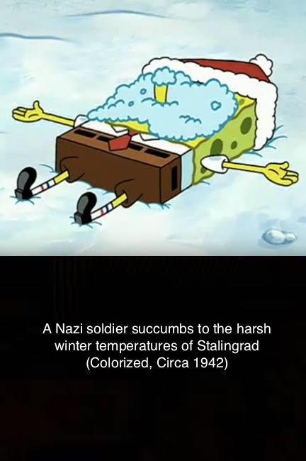 Spongebob In Stalingrad World War Ii Know Your Meme