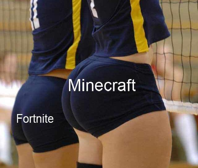 Minecraft Fortnite Thigh Shorts Joint Sportswear Material Leg Sports Active Undergarment Undergarment Team Sport Ball Over