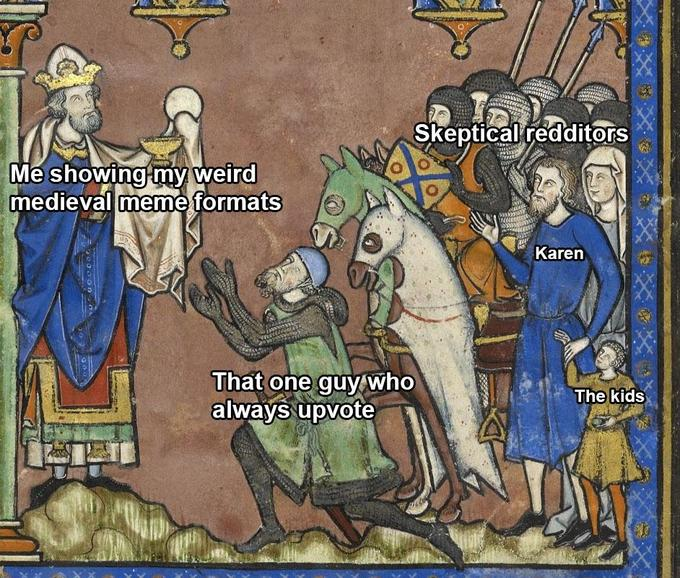 Medieval Tapestry Edits Know Your Meme