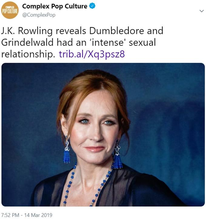 Jk Rowling Harry Potter Is Actually A Gay Black Dwarf Media You