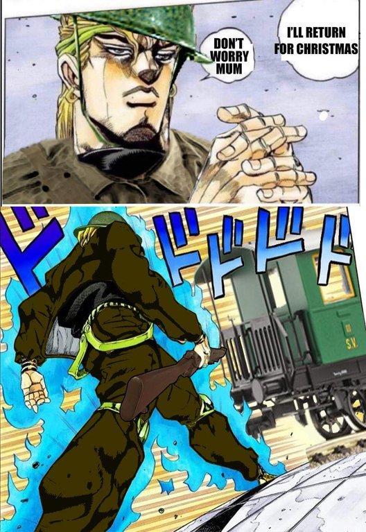 F Mega 7 Dio Walk Gamer Dio Know Your Meme