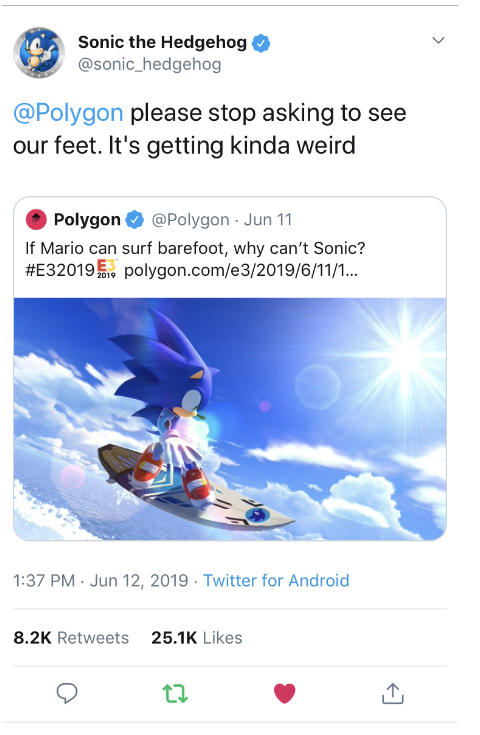 It Just Got Weird Sonic Hedgehog Know Your Meme