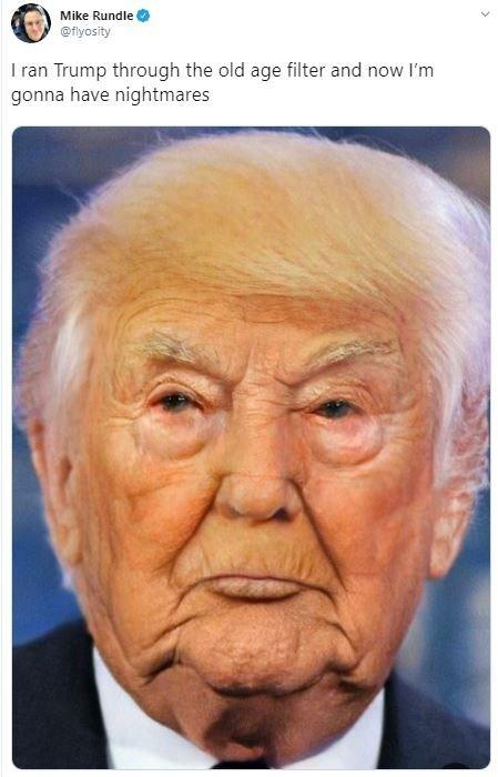 Hair And Tan Still Going Strong Faceapp Age Filter Know Your Meme