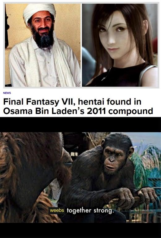 Finaly Fantasy Vii Hentai Apes Together Strong Know Your Meme