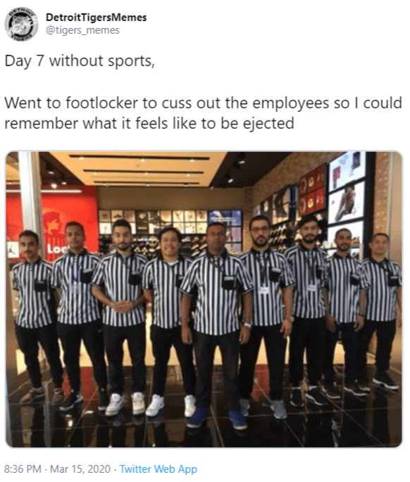Day 1 Without Sports Know Your Meme