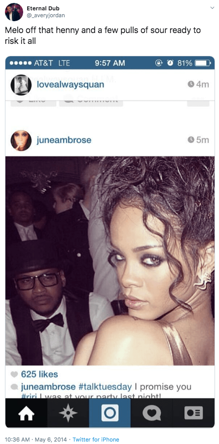 Pictures Carmelo Anthony Doesn T Want You To See Of La La