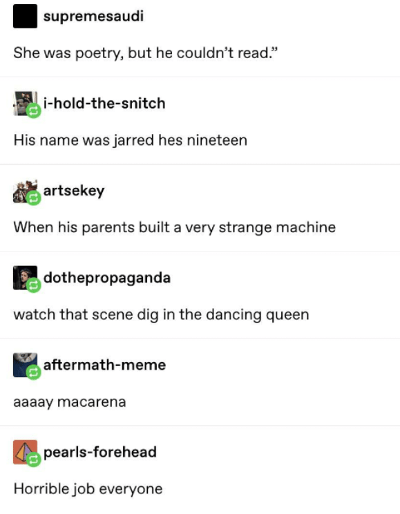 Twitter Users Pair Images With An Old Tumblr Copypasta Wmeme Com