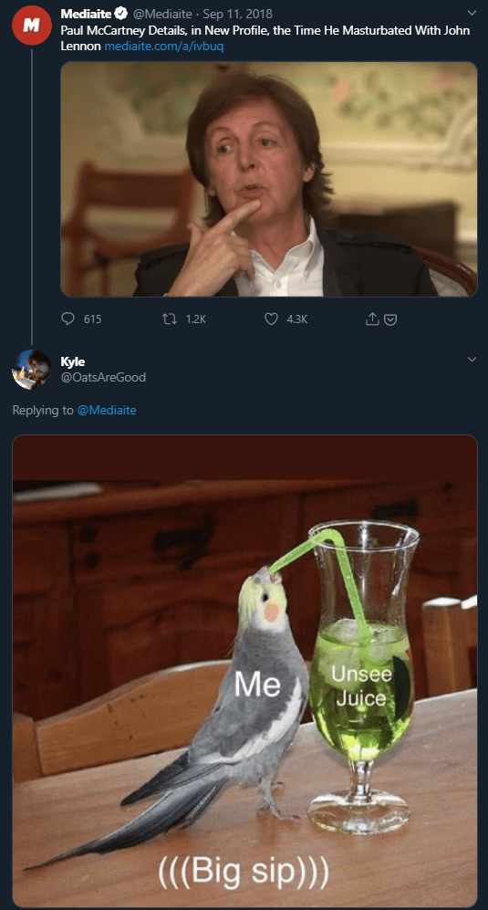 Unsee Juice Know Your Meme