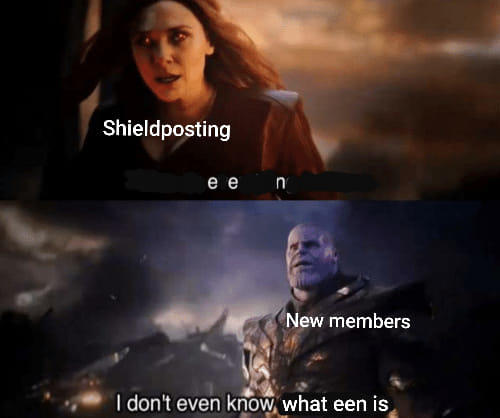 Shieldposting е New members I don't even know, what een is Movie Sky