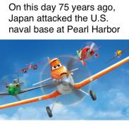 On this day 75 years ago, Japan attacked the U.S. naval base at Pearl Harbor Airplane General aviation Line Vehicle Aerospace engineering Air travel Aircraft