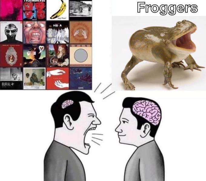 Froggers KID A WANS BURIAL + Head Organism Chin Forehead Vertebrate Jaw Interaction Temple Neck Conversation Terrestrial animal