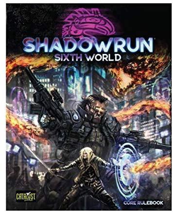 SHADOWRUN SIXTH WORLD CATANST CORE RULEBOOK Shadowrun Fictional character Purple Action-adventure game Poster Hero