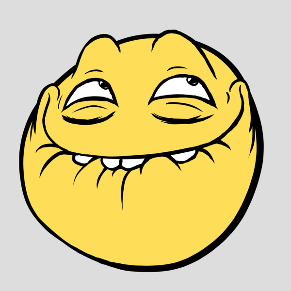 Image 134120 Awesome Face Epic Smiley Know Your Meme