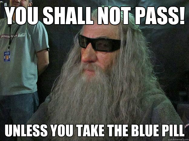 Lord Of The Rings 10 Hilarious You Shall Not Pass Memes That We