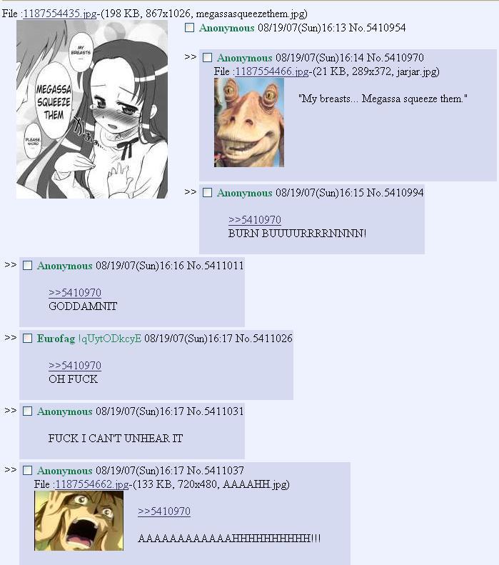 Jar Jar Describes His Star Wars Quasi Rape Scene 4chan