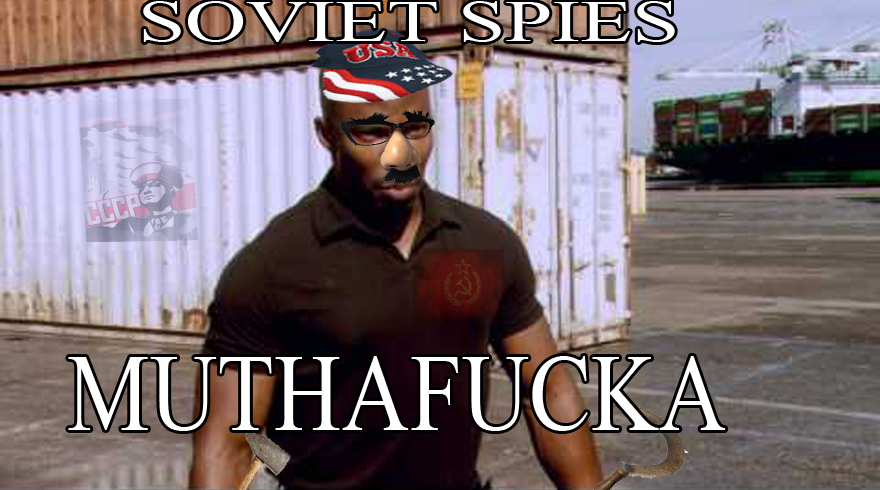Soviet Spies Muthafucka James Doakes Surprise Motherfucker