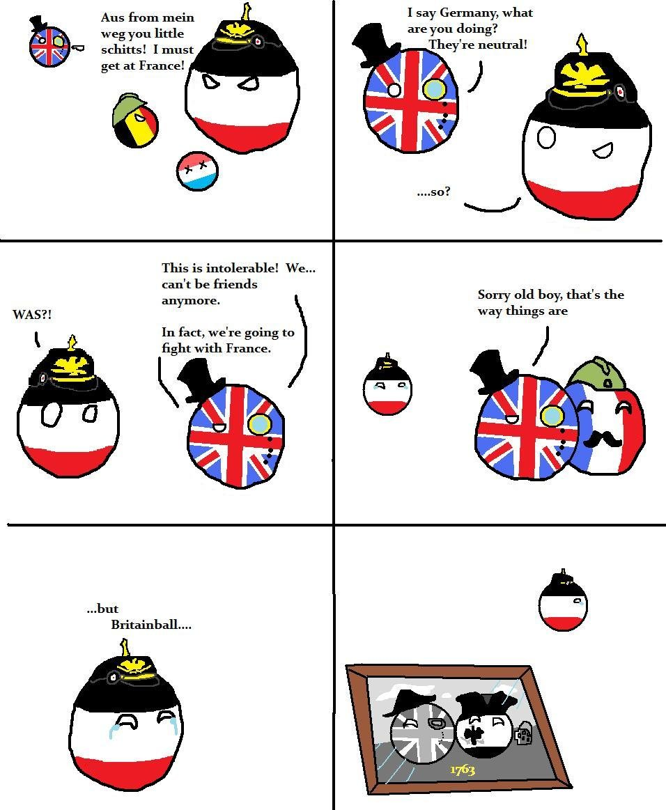 Uk Drinks Beer And German Nationalism Countryballs Youtube