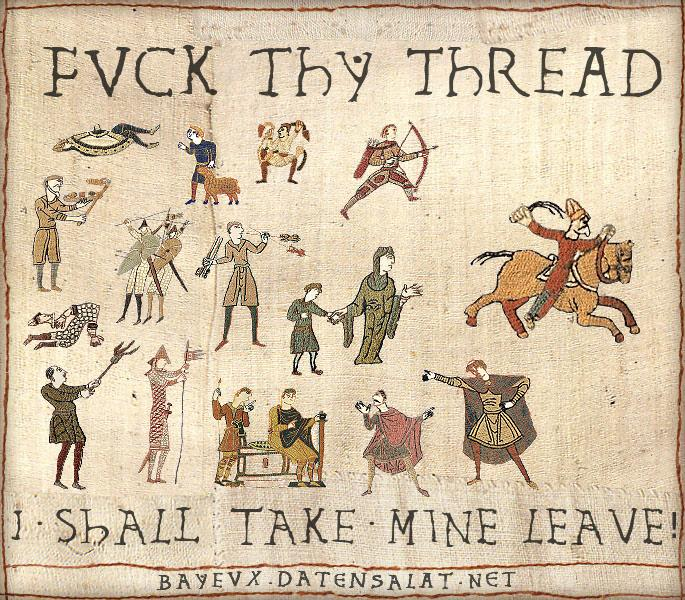 Fuck This Thread Medieval Tapestry Edits Know Your Meme