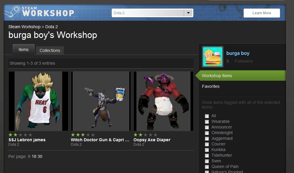 Workshop Quality Defense Of The Ancients Dota Know Your Meme