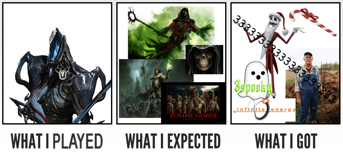 Nekros The Spookiest Warframe What I Watched What I Expected
