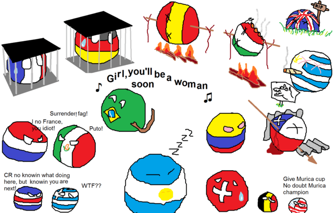 The Baguette Country Balls