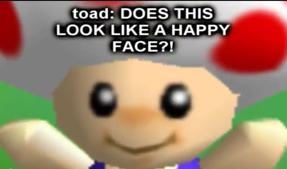 Angry Toad Supermarioglitchy4 Know Your Meme