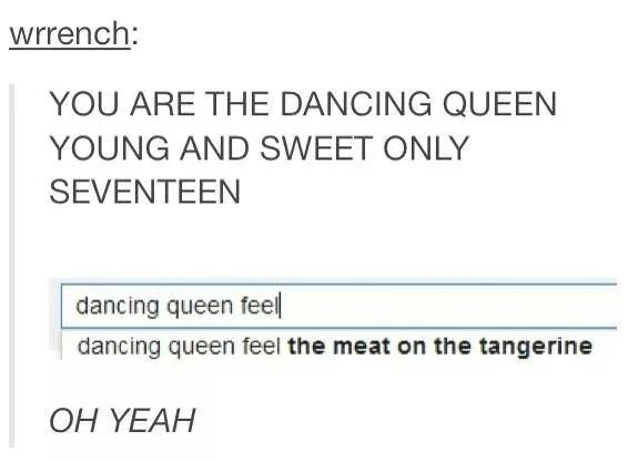 Dancing Queen Tumblr Know Your Meme