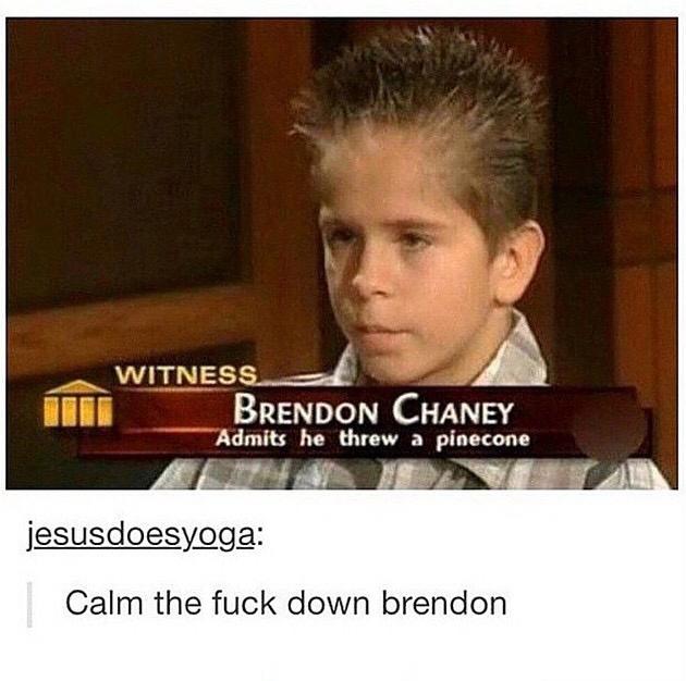 Calm Down Thug Life Know Your Meme