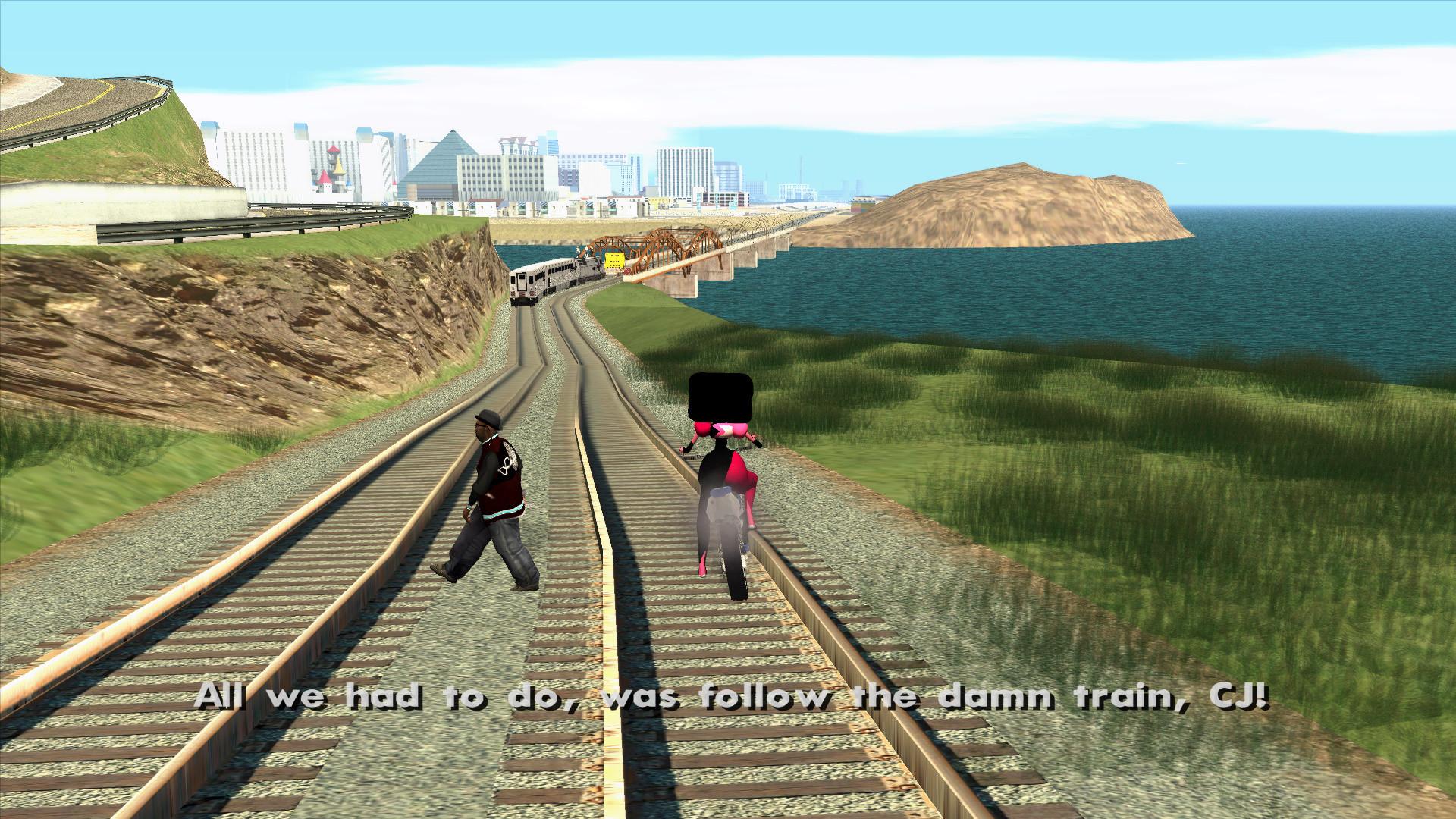 All We Had To Do Was Follow The Damn Train Cj Youtube