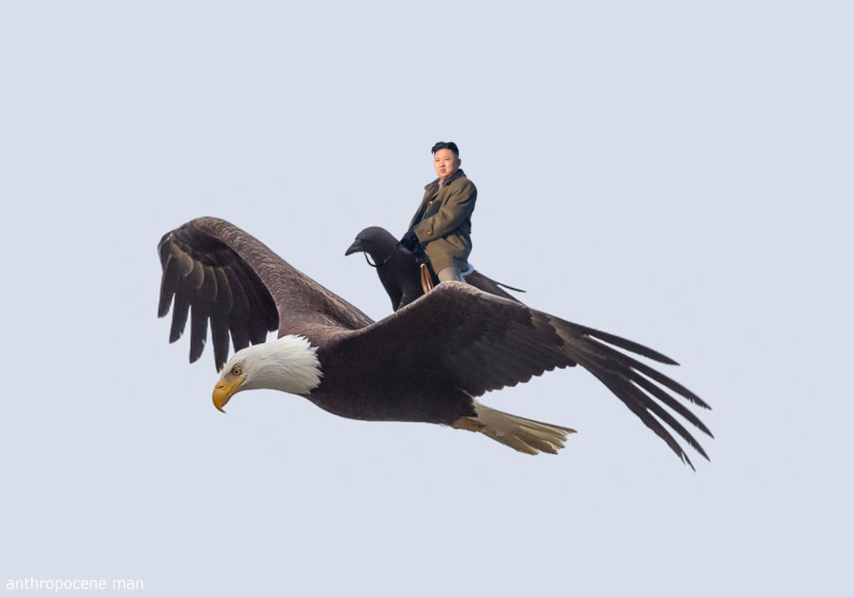 Kim Rides A Crow Who Rides An Eagle Kim Jong Un Know Your Meme