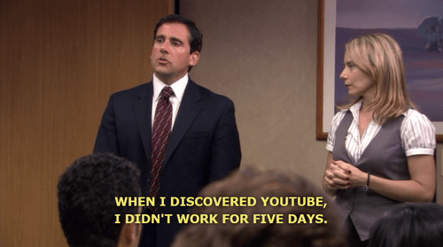 Image result for michael scott youtube