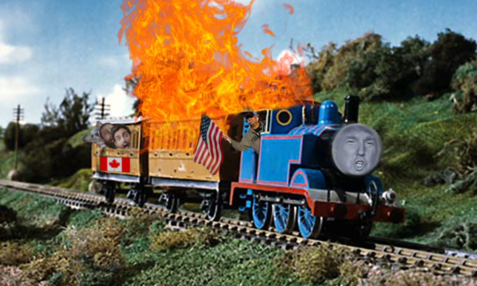 Trump The Steam Engine Donald Trump Know Your Meme