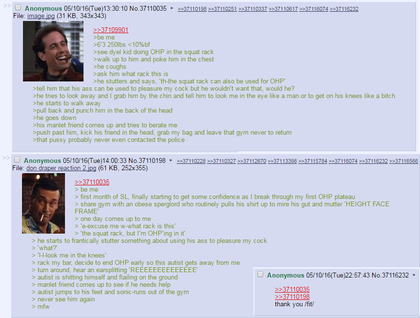 I Know R Greentext 4chan And Reddit Is Gay But This Is Gold