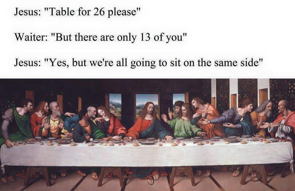 Rsvp The Last Supper Parodies Know Your Meme
