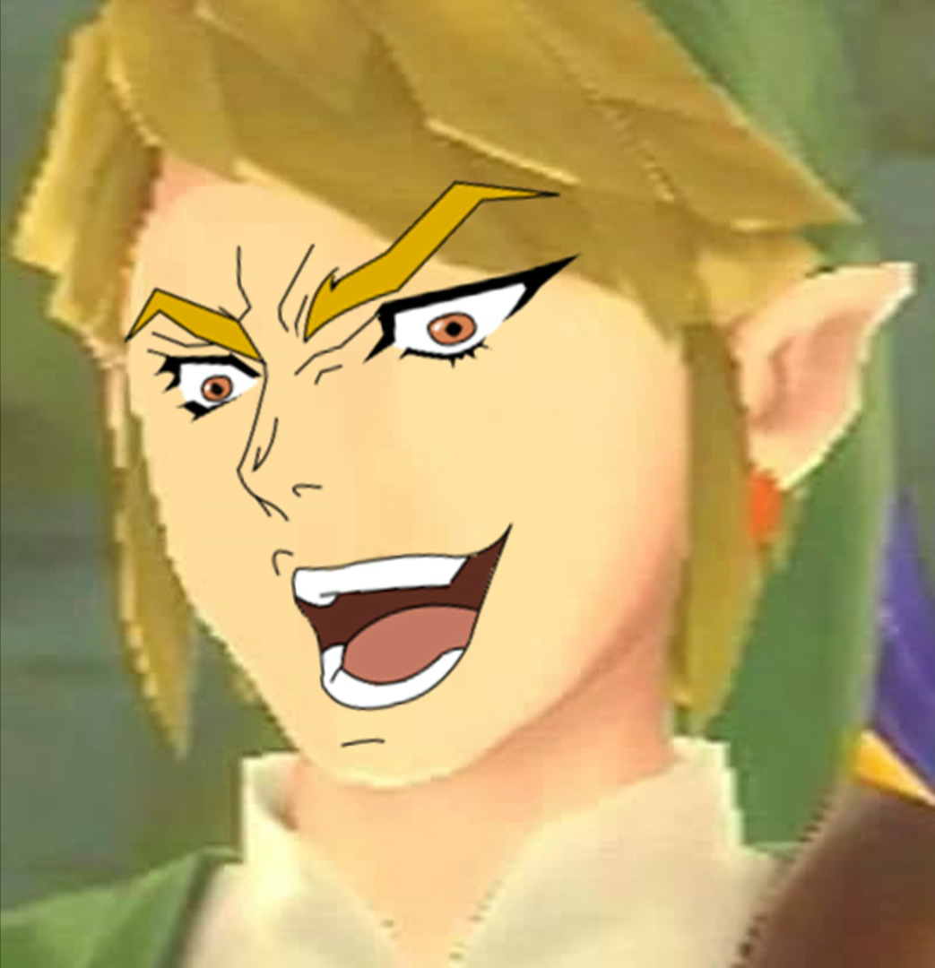 You Thought It Was Link But It Was Dio It Was Me Dio Know