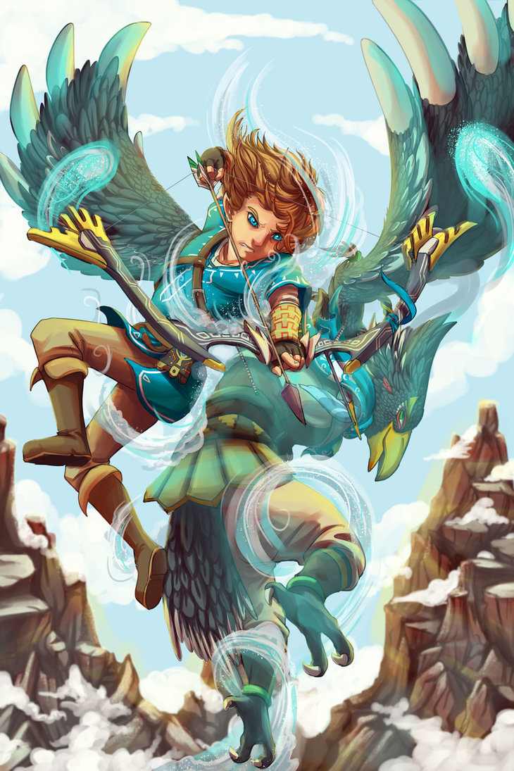 Revali S Gale The Legend Of Zelda Breath Of The Wild Know