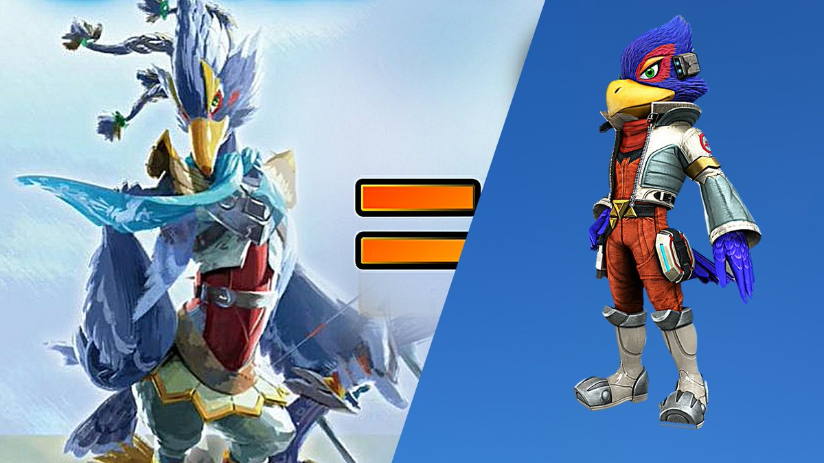 Revali Falco Totally Looks Like Separated At Birth Know