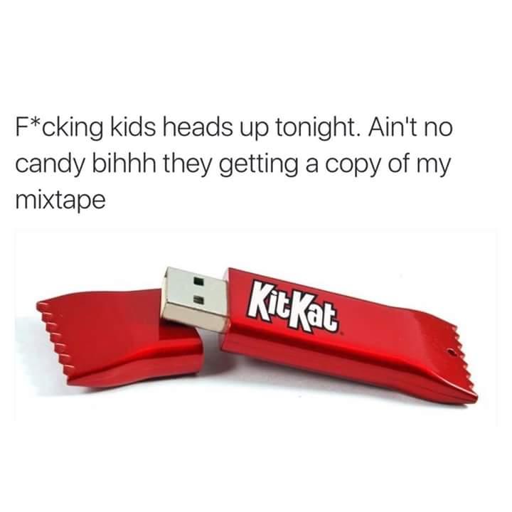 Kit Kat Candy Bar Usb Know Your Meme