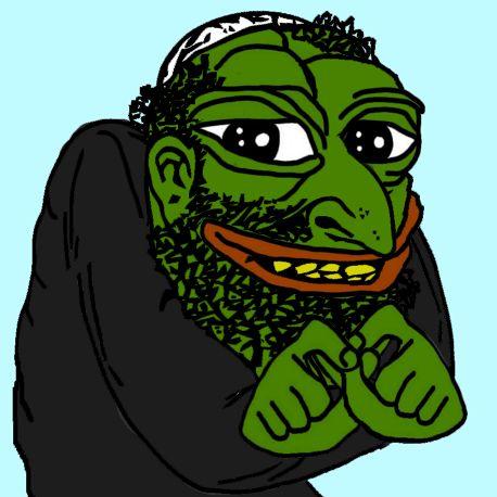 Jew Pepe Happy Merchant Know Your Meme
