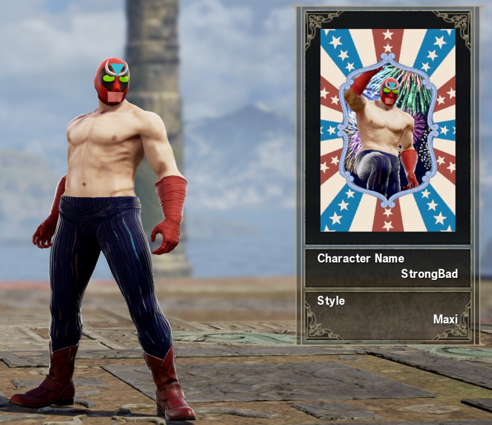 Strong Bad Soulcalibur Vi Custom Characters Know Your Meme