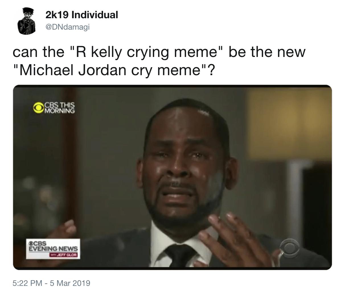 Crying Michael Jordan Know Your Meme