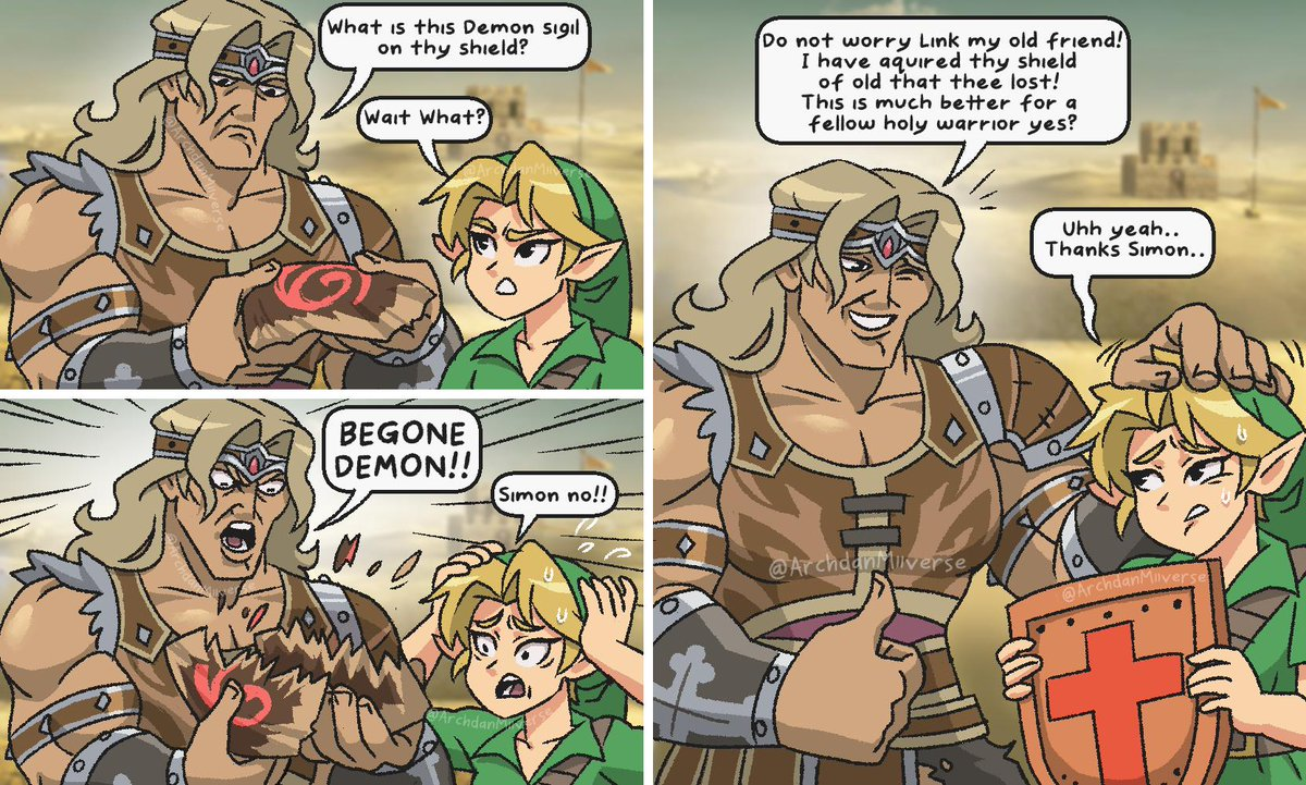 Not Young Link Smashbrosultimate